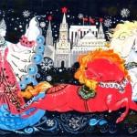 Новогодние открытки СССР