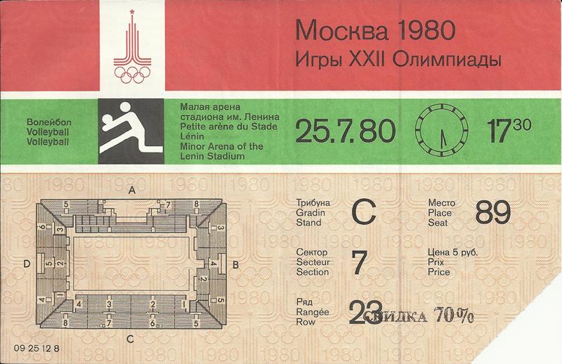 В день смерти Высоцкого проводилось соревнование по волейболу