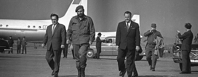 40 дней Фиделя в СССР