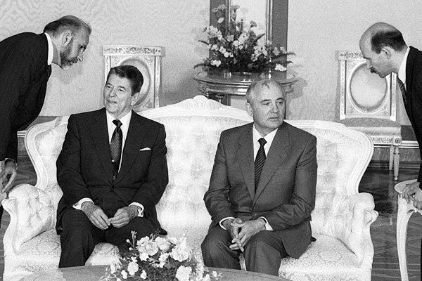 Горбачёв и Рейган